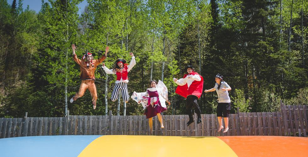 Aventuria - Beauce - 5 personnages - Trampoline